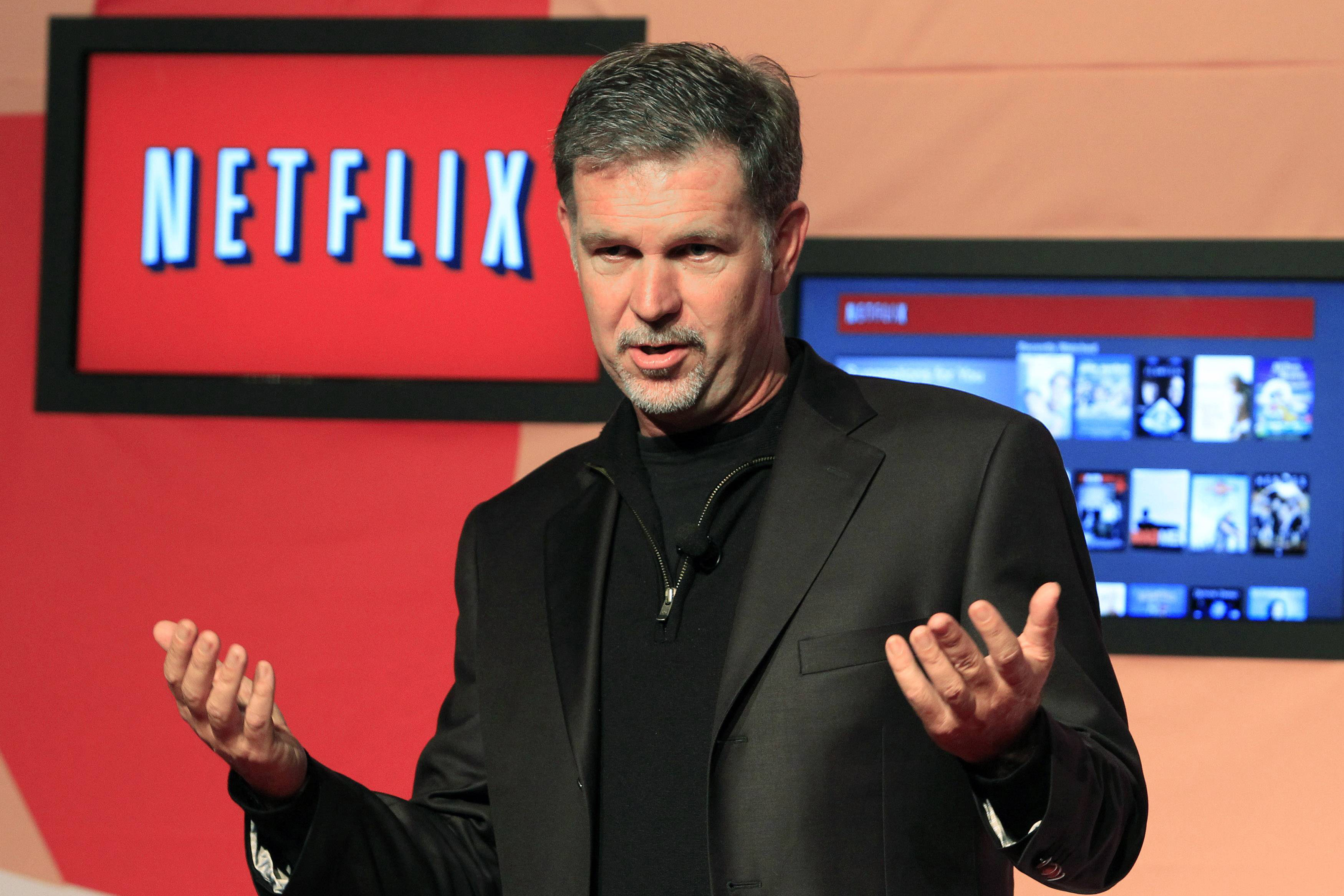 Netflix CEO Hastings
